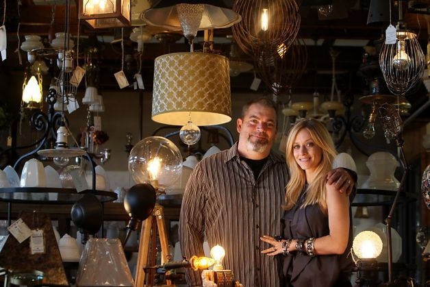Investing in New Lighting for Your Home? 5 Tips from a Custom Lighting Design Expert: Omega Lighting Design's Vanessa Bell (pictured with her husband, Mark Bell) | Revuu: Search for Excellence in Luxury Interiors