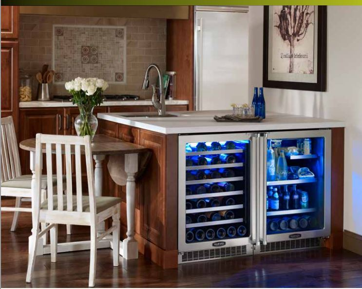 Six luxury brand refrigerators revuu for Best wine fridge brands