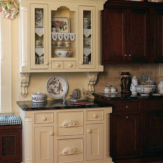 Luxury Kitchen Cabinetry by Plain and Fancy
