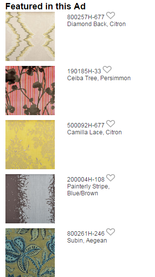 Duralee luxury fabric swatches | Revuu: Search for Excellence in Luxury Interiors