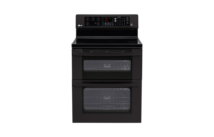 lg electric double oven range
