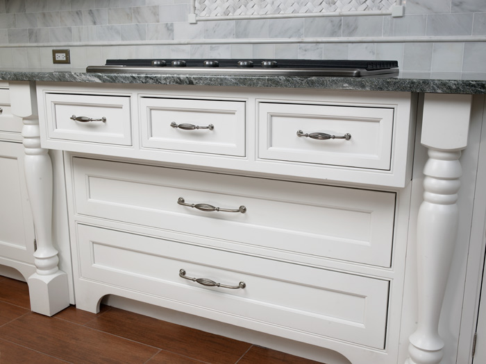 Pull off a new look for your kitchen or bath with updated - Kitchen cabinets with handles ...
