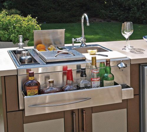 Outdoor Kitchen Appliances: Danver Outdoor Cocktail Station | Revuu: Search  For Excellence In Luxury