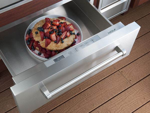 Kitchen Warming Drawer ~ Outdoor kitchen appliances must haves for your next