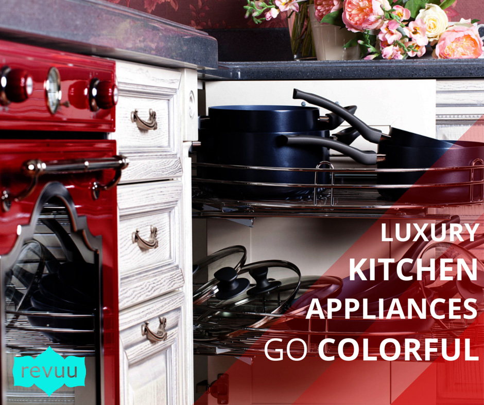 Brights Pastels And Neutrals Luxury Colorful Kitchen Appliances