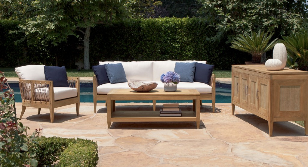 Luxury Outdoor Furniture: Michael Berman's Marin collection for Brown Jordan | Revuu: Search for Excellence in Luxury Interiors