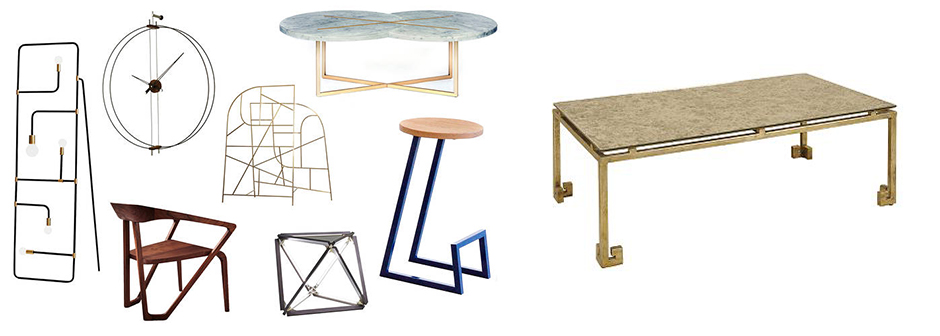 Pearson Greek Key Coffee Table and the Linear Furniture Trend | Revuu: Search for Excellence in Luxury Interiors