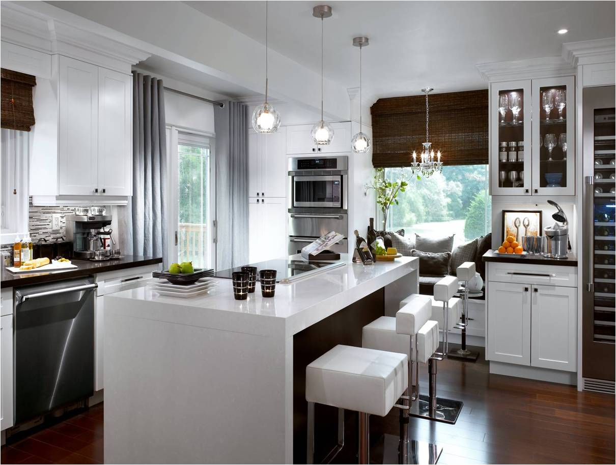Modern Kitchen Remodel By Candice Olson Featuring The Sleek Thermador  Masterpiece® Series Induction Cooktop.
