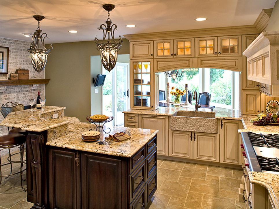 The 4 layers of luxury kitchen lighting revuu for Gail drury kitchen designs