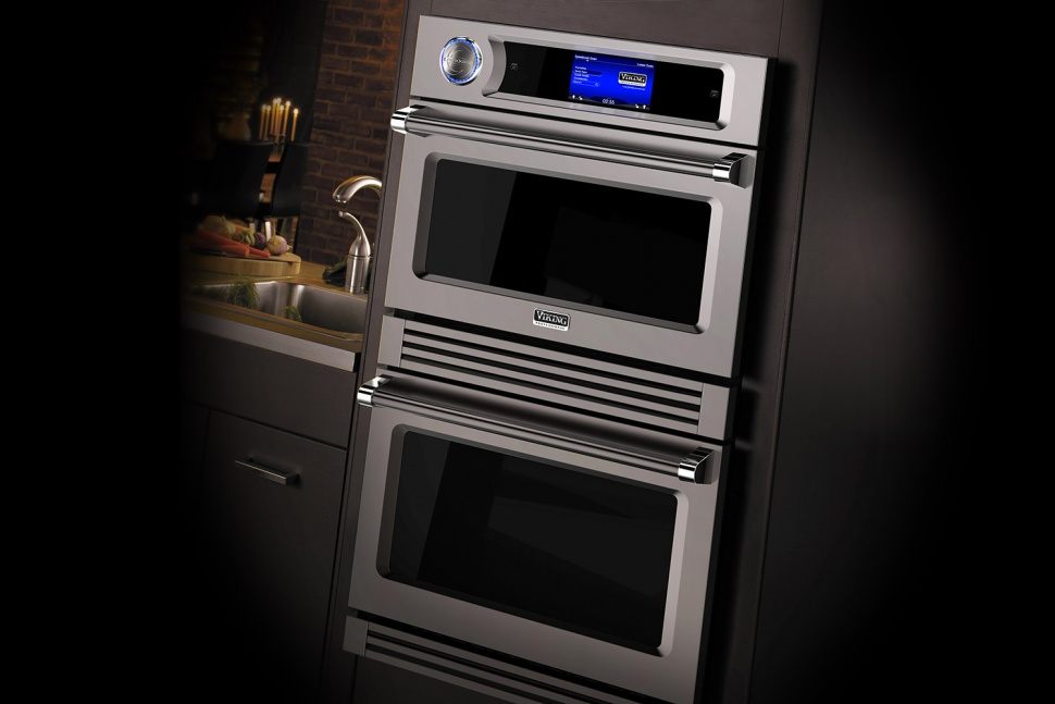 Faster smarter luxury appliances showcased at kbis 2016 for Luxury oven