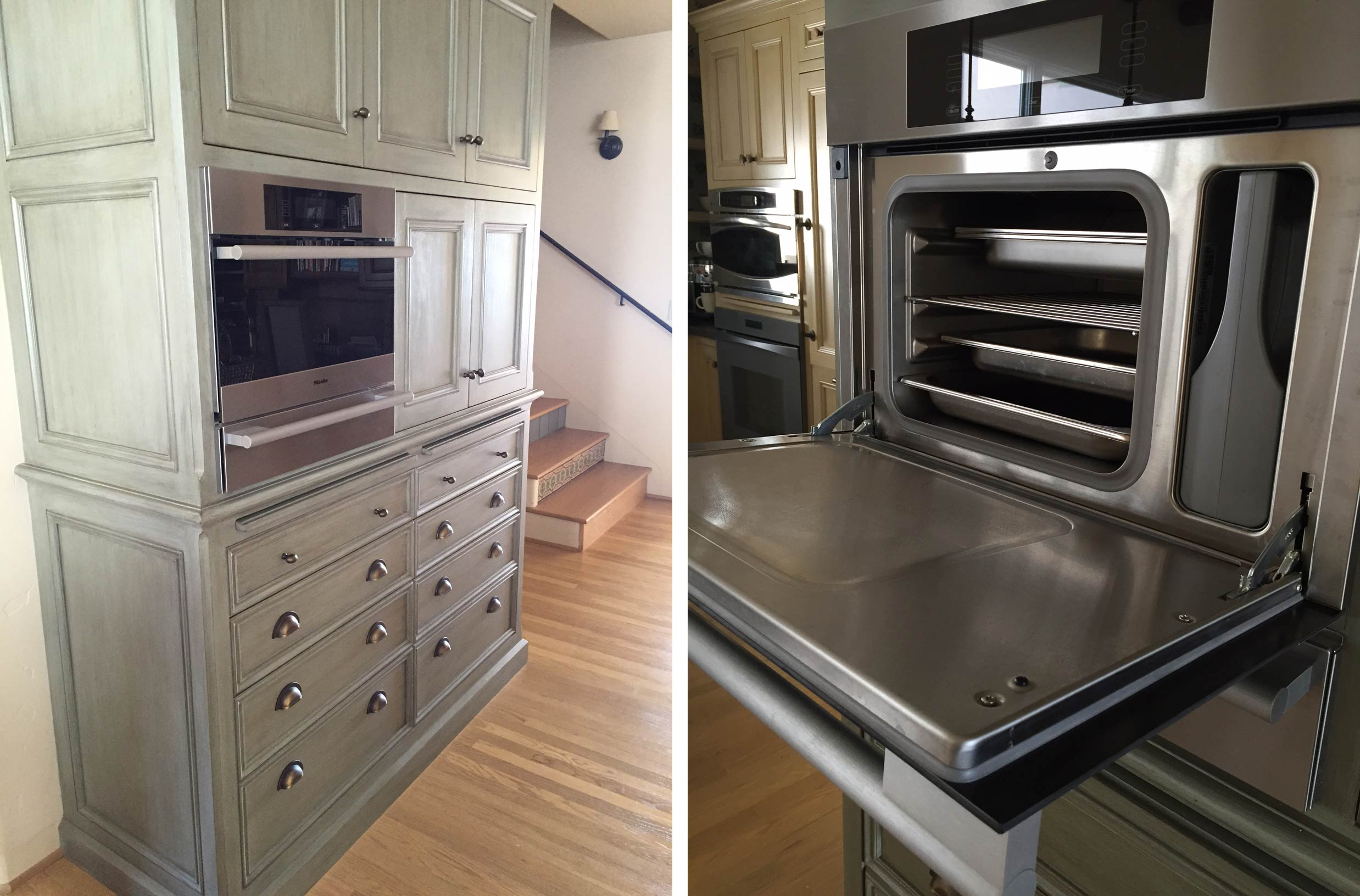 Induction cooktops and steam ovens in home kitchens for Induction oven pros and cons