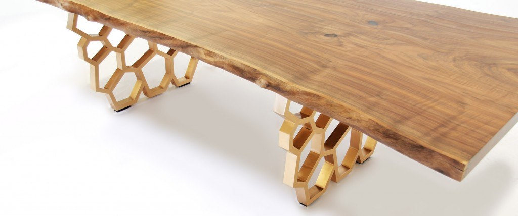 """Honeycomb"" table designed by David Nashif"