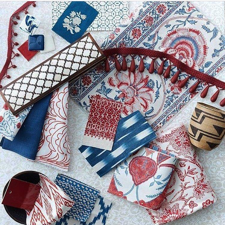 bennison floral textile