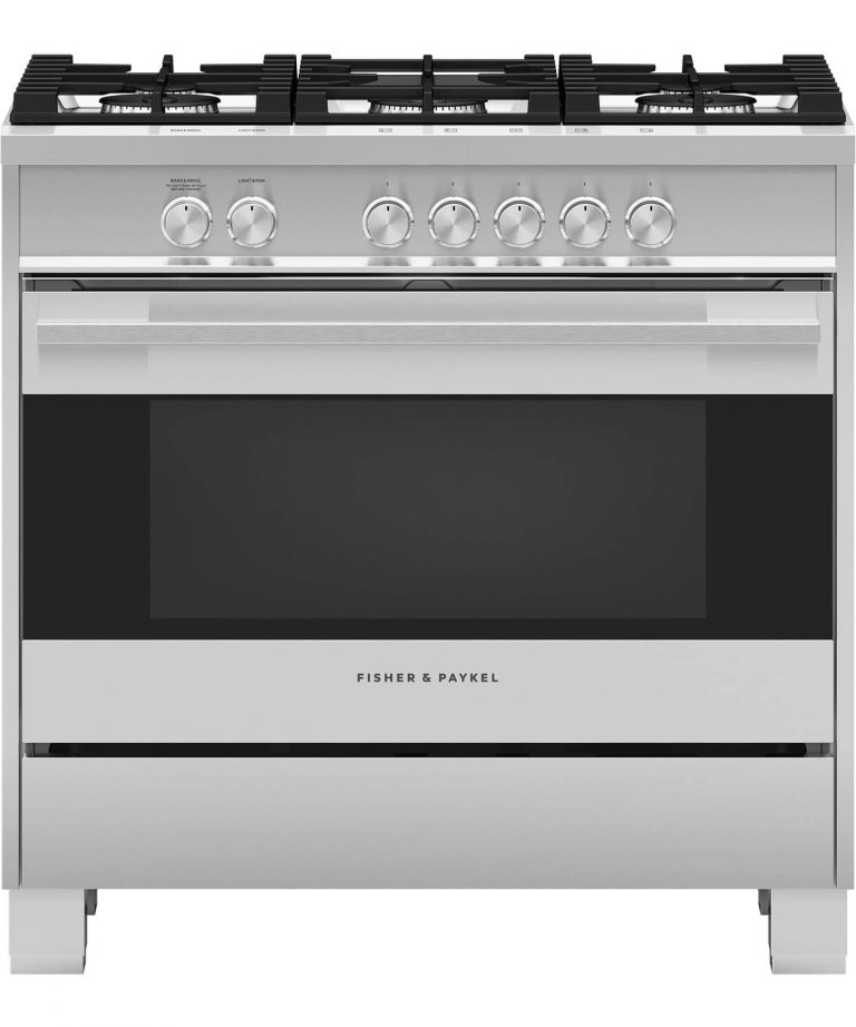 "Dual Fuel Range, 36"" Contemporary Style OR36SDG4X1"