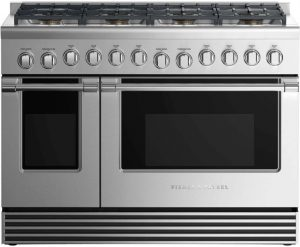 "Professional Style Dual Fuel Range 48"", 8 Burners"