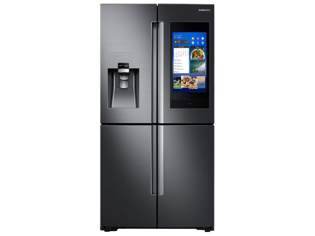 samsung 22 cubic feet smart refrigerator family hub