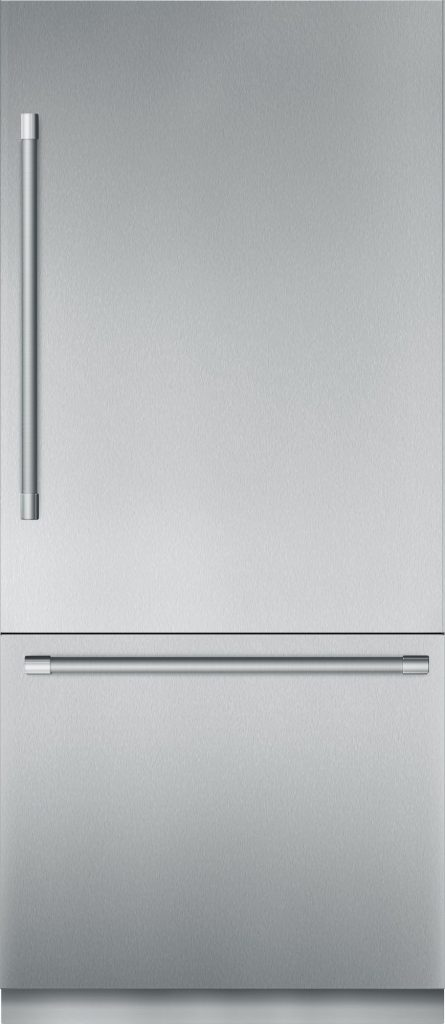 thermador-stainless steel smart refrigerator 36""