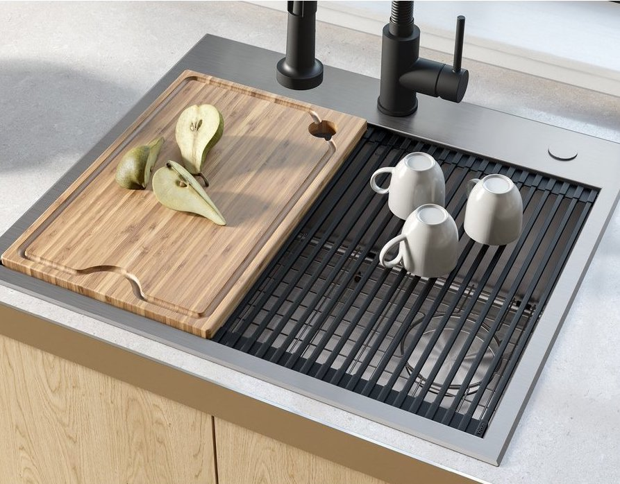 Workstation Sinks: Maximizing Efficiency in the Kitchen