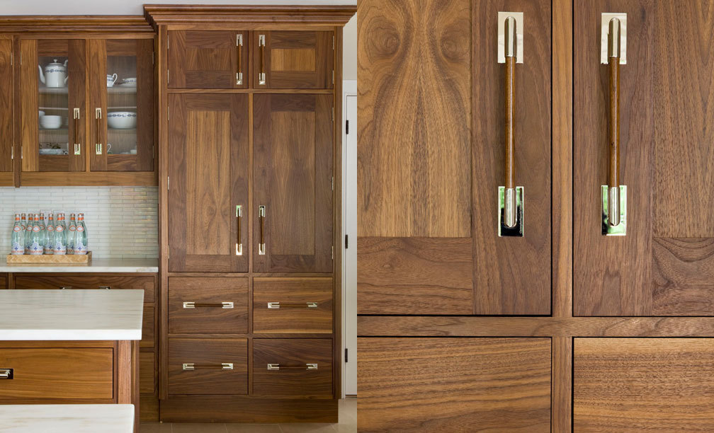 Stain grade doors cabinetry revuu for Christopher peacock kitchen cabinets