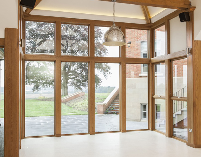 Doors windows doors revuu for Marvin bi fold doors