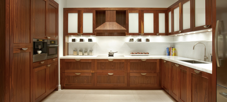 natural walnut kitchen cabinets stain grade cabinetry cabinetry revuu 3458